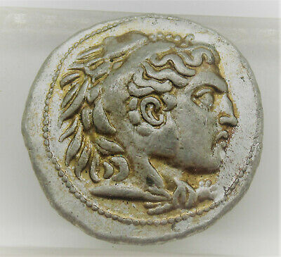 Unresearched Ancient Greek Ar Silver Tetradrachm Alexander The Great