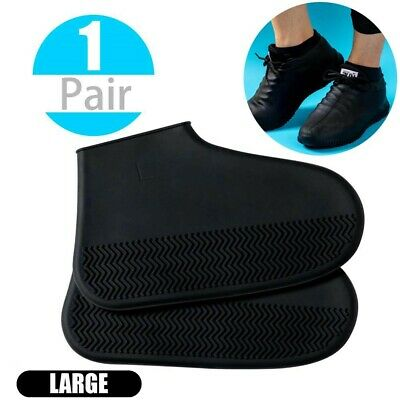 Waterproof Shoe Cover Outdoor Rainproof Hiking Skid-proof Shoe Silicone Covers