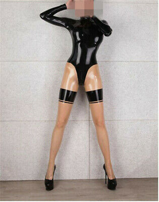 752 Latex Catsuit Rubber Gummi bodysuit customized costume sexy 0.4mm clothing