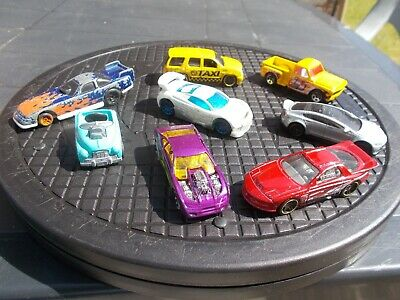 Job Lot Of 8 Assorted Old & New Hot Wheels 35-Used/Mint/Unboxed