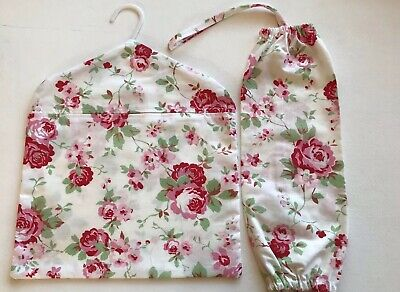 Peg Bag And Carrier Bag Holder Handmade With Ikea Cath Kidston Rosali Fabric