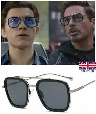 Spiderman Far From Home Sunglasses Peter Parker Iron-Man Tony Stark Hot Glasses