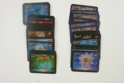 Smiths Chips Pokemon set of 50 motion cards plus album card (Meowth) 2000