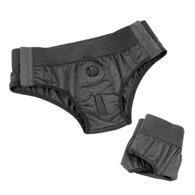 Trans FTM Boxer Packing Briefs O-Ring Strap-On Packer Harness Adult Panties