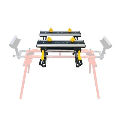 Portable Tilting Adjustable Workmate Mitresaw Stand Attachment Workbench