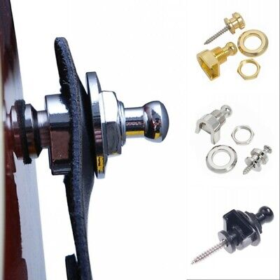 Alloy Guitar Bass Strap Locks Buttons Schaller Style Security Guitar Accessory