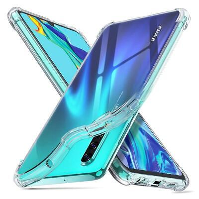 For HUAWEI P30 Pro P30 Lite Slim TPU ShockProof Clear Case Silicone Bumper Cover
