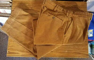 1978 LEVI'S VINTAGE 568 Corduroy Rambler Light Brown Pants