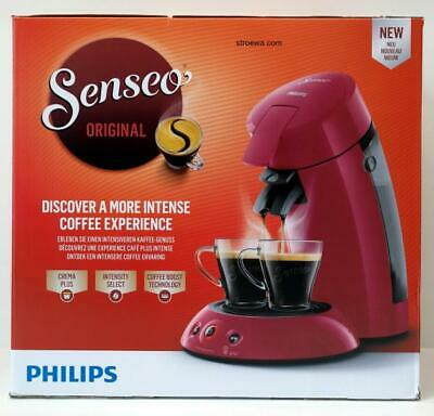 Philips Senseo Original HD6554 rot Kaffeepadmaschine