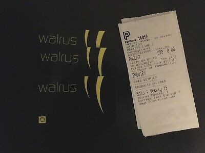 3x Merseytravel Walrus Weekly bus tickets