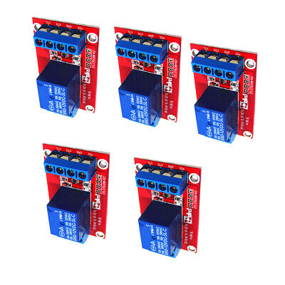 5x3V 1 Channel Relay Board Module w/ Optocoupler 10A for Arduino PIC ARM AVR