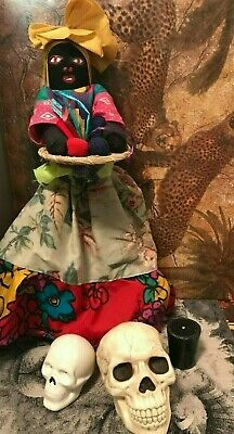 Haunted Giant Wicked New Orleans Voodoo Doll Spirits Of Loa Very Powerful Vodoo