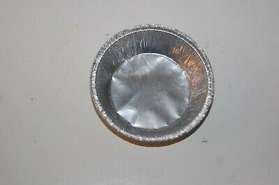 """(Pk 100) 3.75"""" Round Foil Cases Dishes Pies Tarts Desserts"""