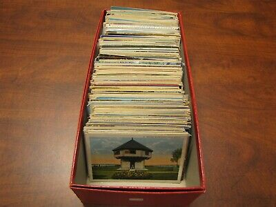 Estate Picture Postcard Lot Of 725 Collectible Cards No Reserve Auction