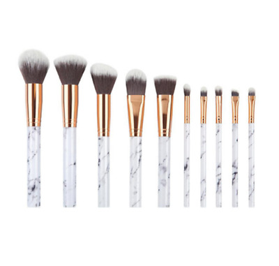 10 tlg. Professional Make Up Pinsel Set Kosmetik Schminkpinsel Brush Werkzeug DE