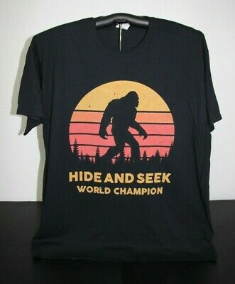 ace78cac8e66 BRAND NEW BIGFOOT HIDE AND SEEK CHAMPION Mens Womens UFO SM-5XL ...