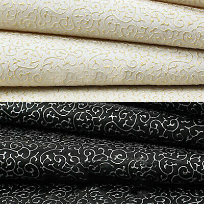 Vintage PVC Fabric PU Faux Leather For DIY Sewing Bag Clothing Sofa Car Material