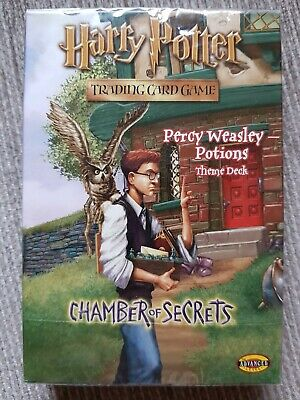 Harry Potter Percy Weasley Potions Theme Deck *Sealed* TCG CCG CoS