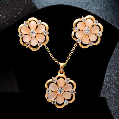 Wholesale Fashion Women Jewelry Set Necklace Earrings For Bridal Wedding