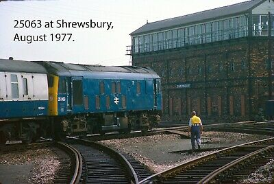 CLASS 37 37010 /& 37238 at Chinley on 28 May1985 Railway Slide