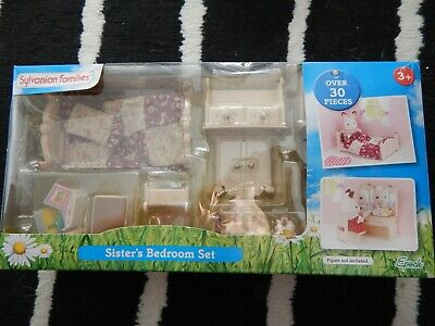 sylvanian family whole bedroom set