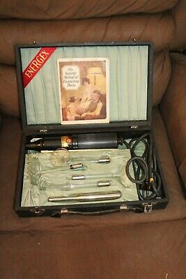 Ultra Violet Electrical Quack Medical Therapy Kit Works Very Very Strange