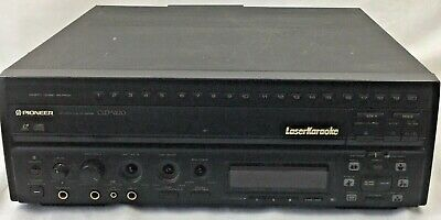Used Pioneer CLD-V820 Laser Karaoke CD CDV LD Player