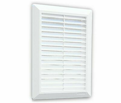 Air Vent Grille 175mm x 250mm with Fly Screen Wall Ducting Cover