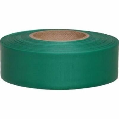 Merco M220 Green Flagging Tape - 1-3/16in x 300ft - Convenience Pack of 72 Rolls