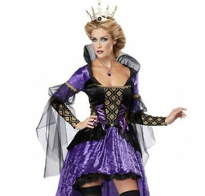 Halloween California Costume Wicked Queen-New In Package-Free Shipping