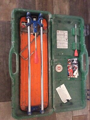 RUBI TS-50 Plus Professional Tile Cutter - excellent condition, with additions