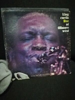 KING CURTIS LIVE AT FILLMORE WEST ATCO JAZZ FUNK SOUL 1971 1st CND PRESS EXC LP