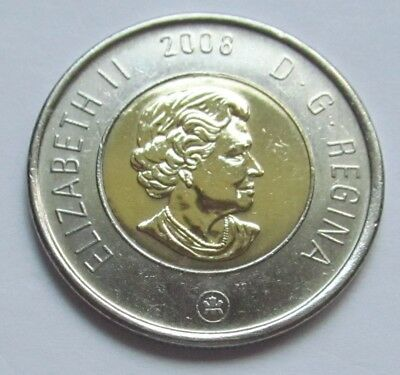 2008 CANADA  2 DOLLAR TOONIE - combined shipping