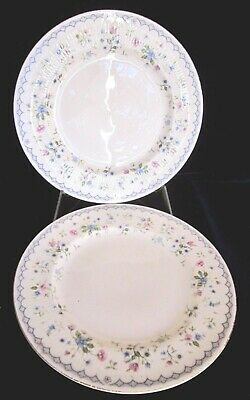 Paragon Florabella Bone China Salad or Dessert Plates -Set of 2 -England - 8 in.