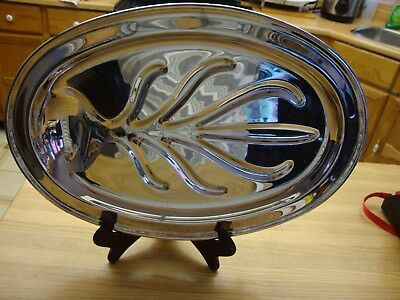 Marlboro Silverplate By Norton Parker Footed Serving Tray