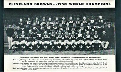 1951 Chicago Bears @ Cleveland Browns Dub Jones Ties NFL Record 6 Tds