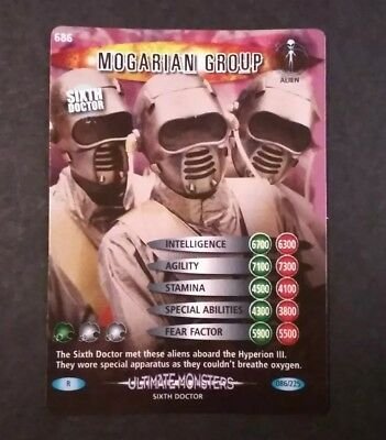 Dr Who Mogarian Group #086/225 Holo Rare Ultimate Monsters Card NM/M