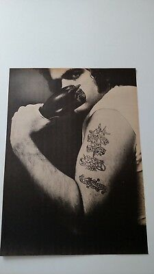 Elton John Friday Nights For Fighting '73 Rare Original Print Promo Poster Ad