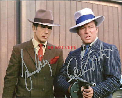 STAR TREK WILLIAM SHATNER & LEONARD NIMOY DUAL Signed 8x10 Autograph Photo Repri