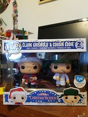 Funko Pop! National Lampoon's Christmas Vacation Clark Griswold Cousin Eddie FYE