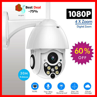 Cam+ Outdoor WiFi Camera - Smart PTZ - IP Camera (1080P) - Free Shipping [-75%]