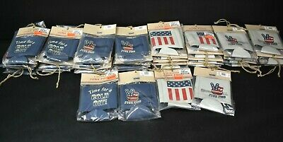 Wholesale Lot of 58 Junk Food Patriotic Can Coolers Koozies Coozies