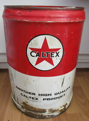 Caltex 5 Gallon Tin Drum - Delivery Included