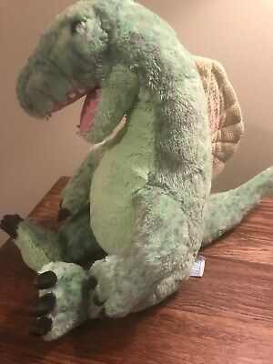 BABW Build-a-Bear Spinosaurus Dinosaur Soft Green Plush Stuffed Animal Doll 13""
