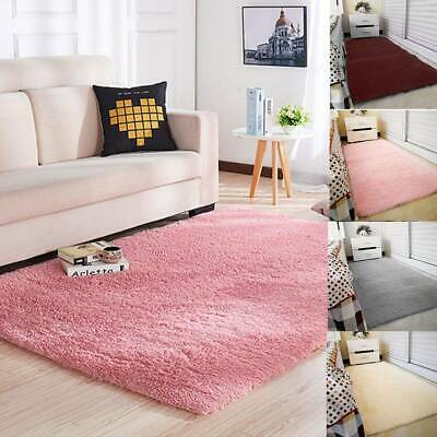 Fluffy Rugs Anti-Skids Shaggy Area Rug Dining Rooms CarpetFloor Mat HomeBedrooms