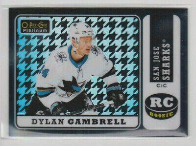 DYLAN GAMBRELL 2018-19 OPC Platinum Retro /25 Rainbow Black Whit Houndstooth R81