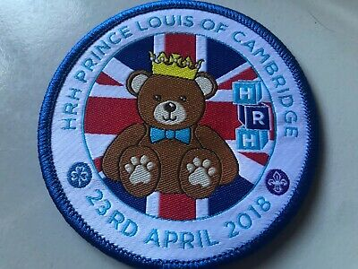 Girl Guides / Scouts HRH Prince Louis 2