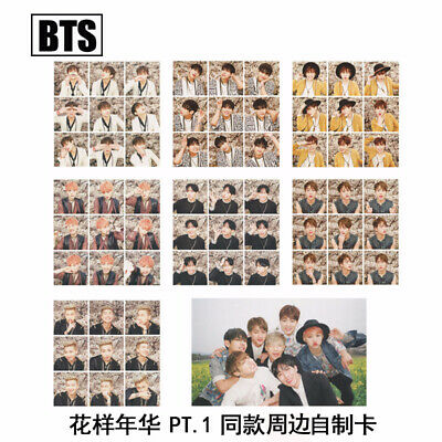 8pcs/Set Kpop BTS I NEED U Photo Cards Bangtan Boys Suga Jimin V Photograph
