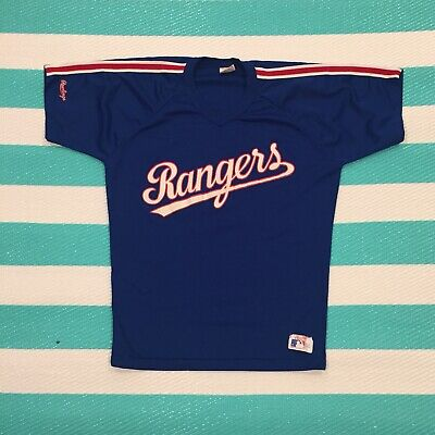 premium selection a7ff7 d4aac VINTAGE IVAN RODRIGUEZ Texas Rangers Jersey Medium Rawlings Pudge MLB 80s  90s