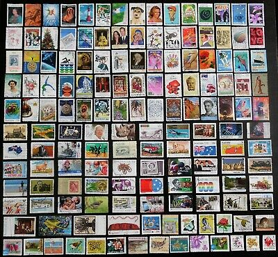 AUSTRALIA mixed bulk lot, decimal collection, used, 150 different, MAU326